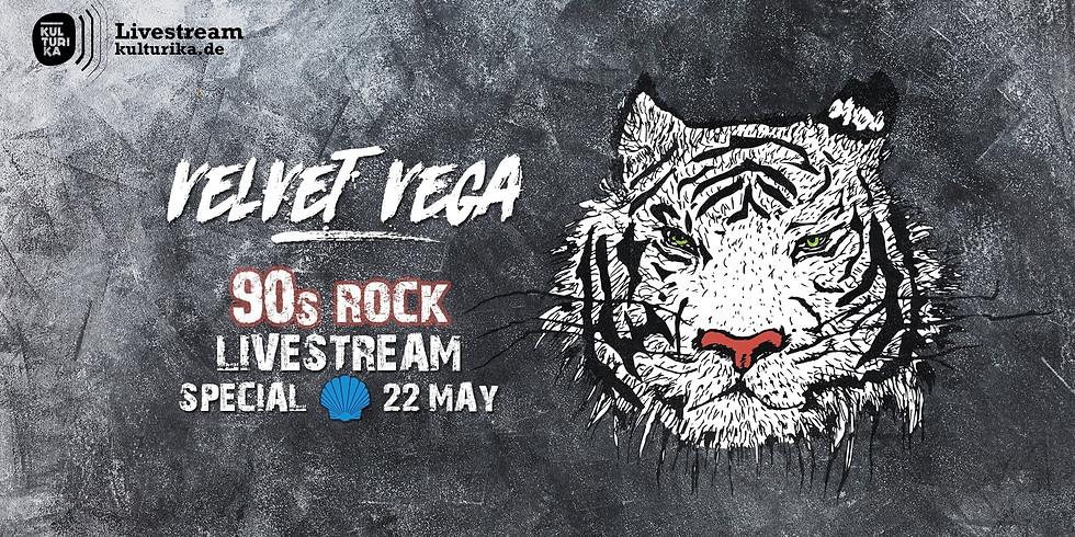 Velvet Vega Live Stream