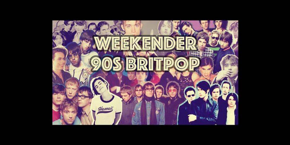 Weekender 90s Britpop Live Stream