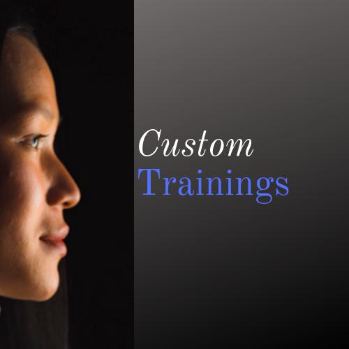 Custom trainings