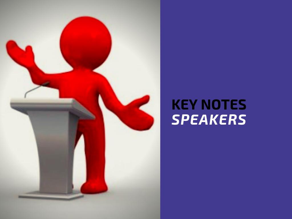 key notes speakers