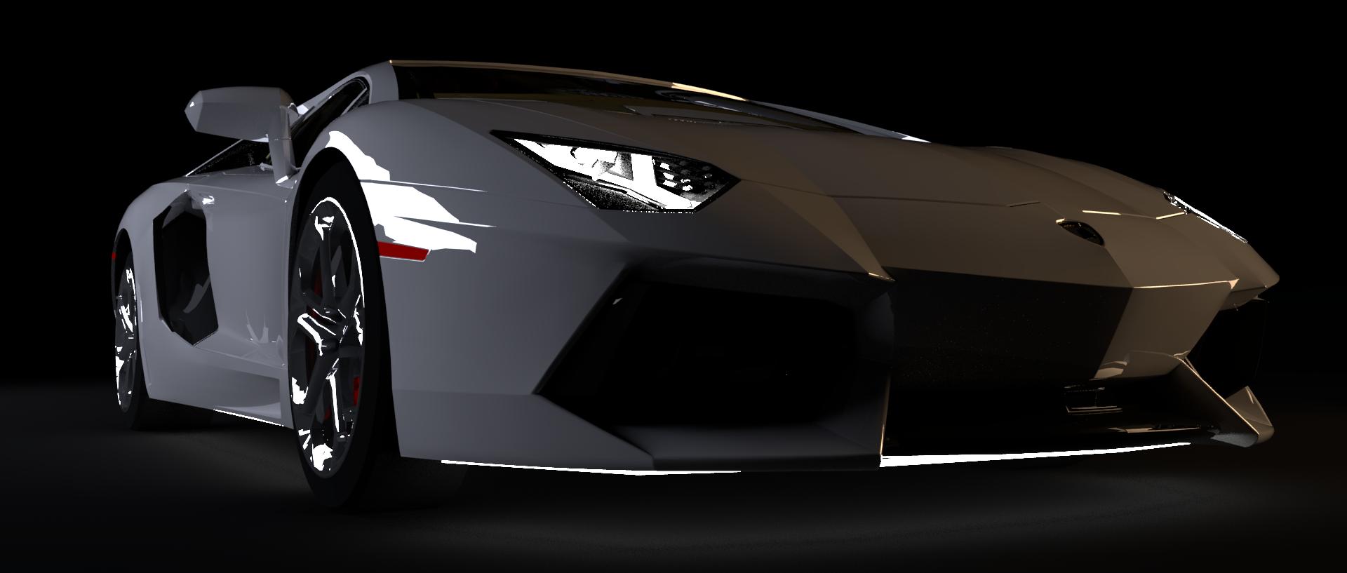 Aventador_Front34