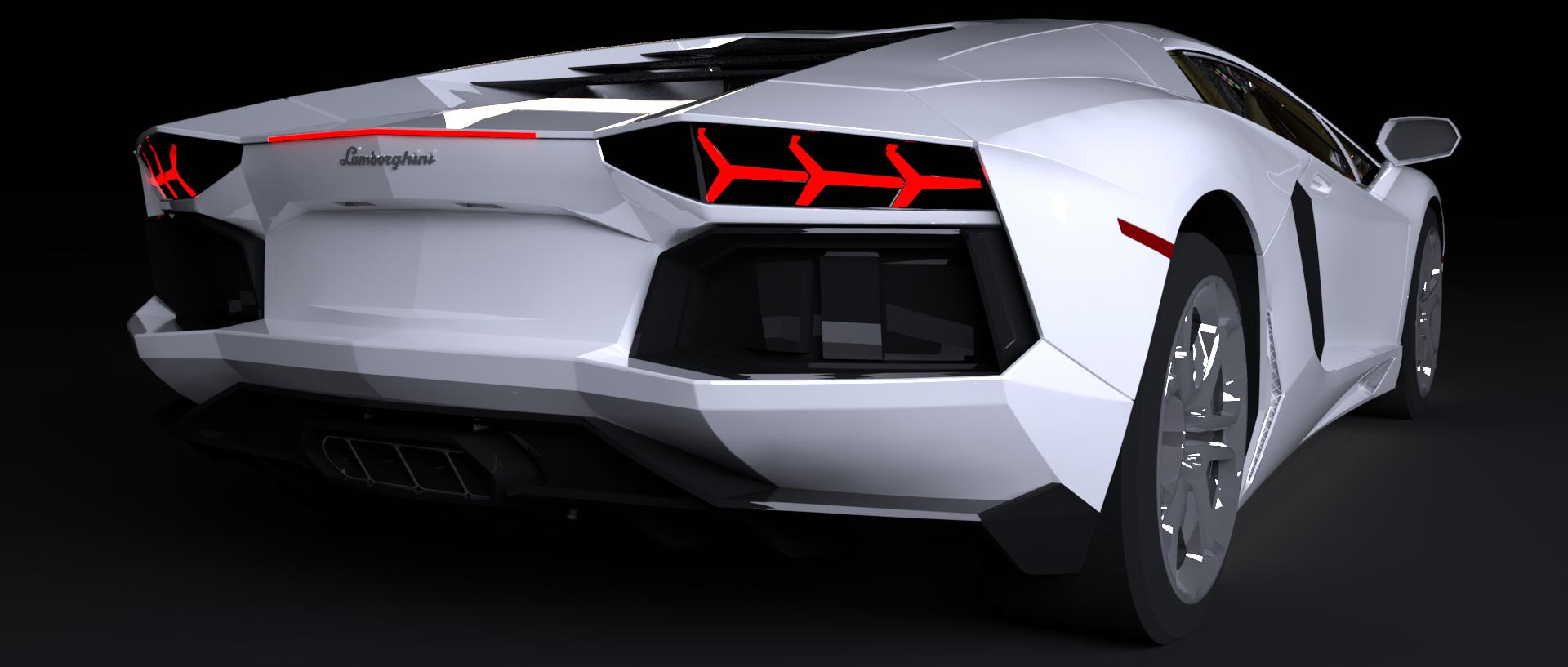 Aventador_Back34
