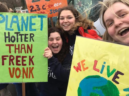 """Dora (19): """"De klimaatmars geeft mij het gevoel van kracht en vertrouwen"""""""