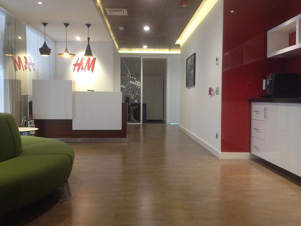 Oficinas Tiendas H & M