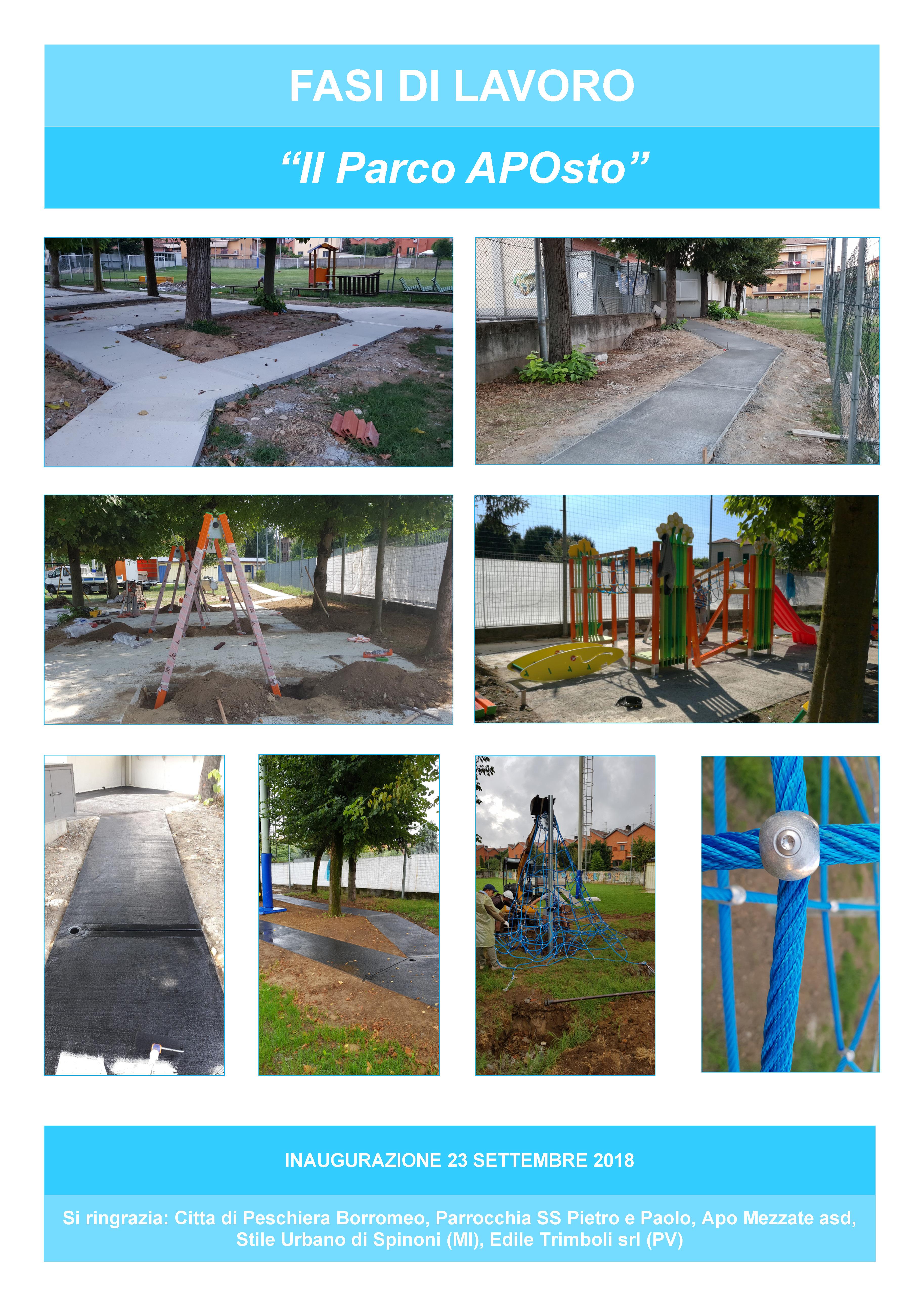 Scheda sintetica progetto Il Parco APOst