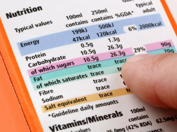 Understanding Nutrition Labels when You Are Diabetic