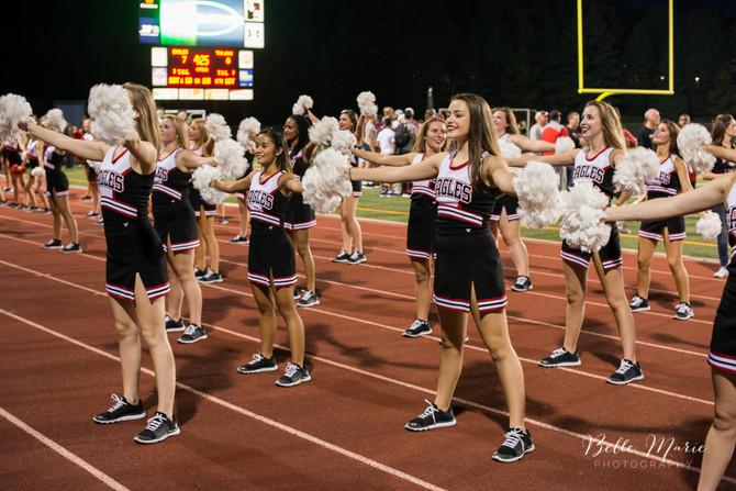 Eden Prairie High School Homecoming Football Game