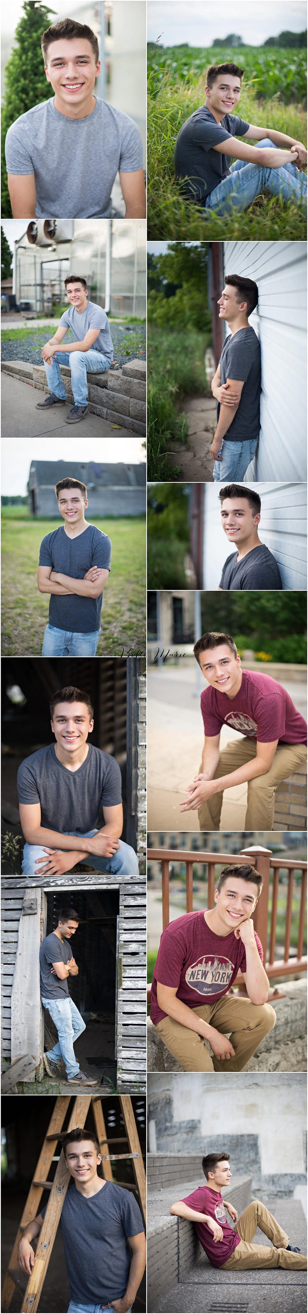 Senior boy high school senior photos