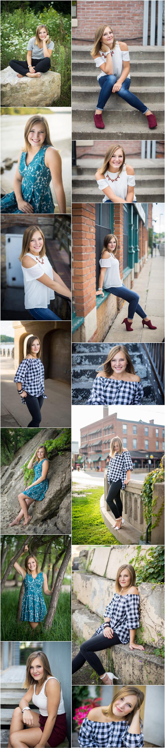 Downtown Stillwater High School Senior Portraits
