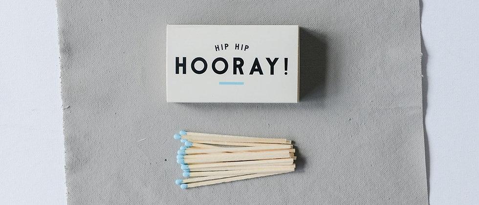 Hooray! Matchbox