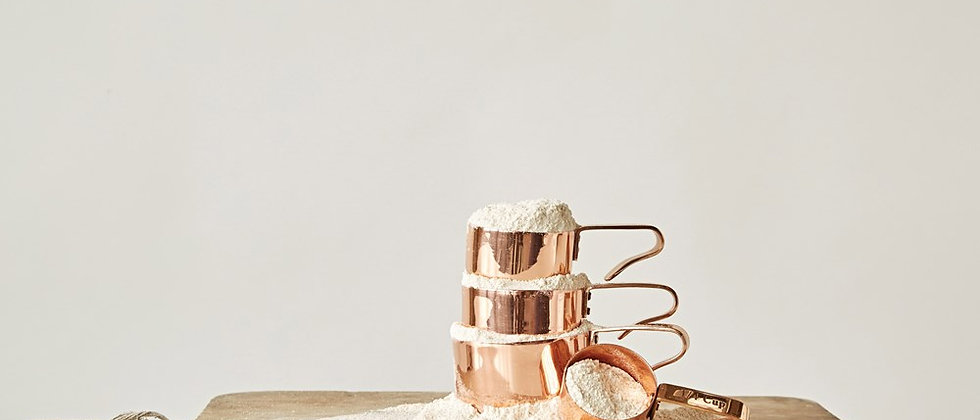 Copper Finish Measuring Cups