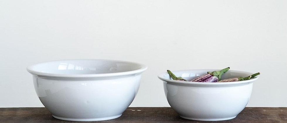 Antique White Kitchen Bowl