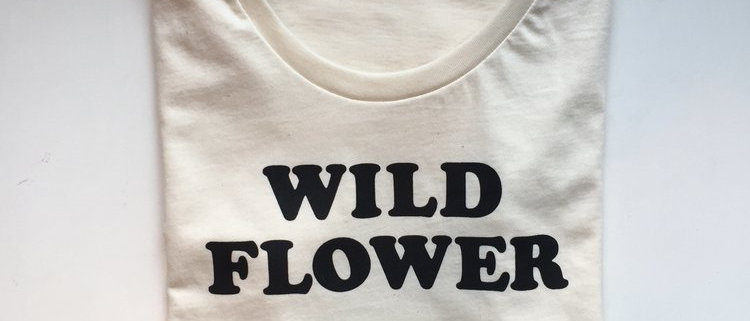 Wild Flower Women's Tee - Organic Cotton
