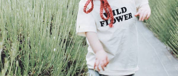 Wild Flower Kids Tee