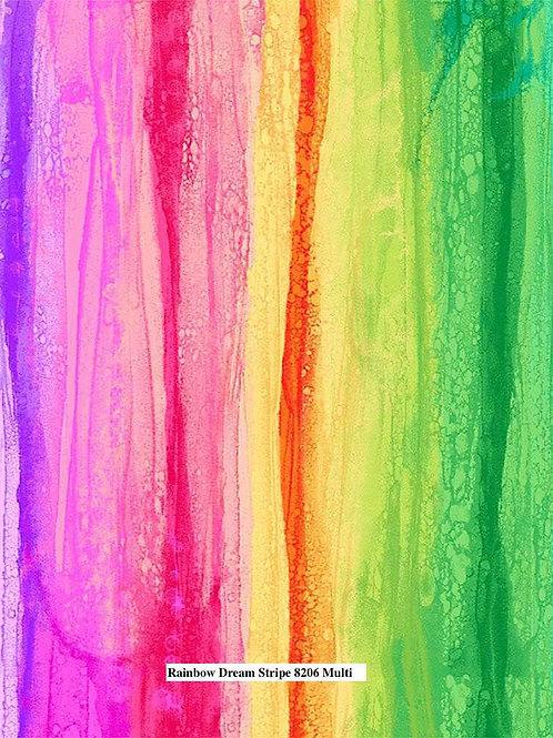 Rainbow Dream Stripe