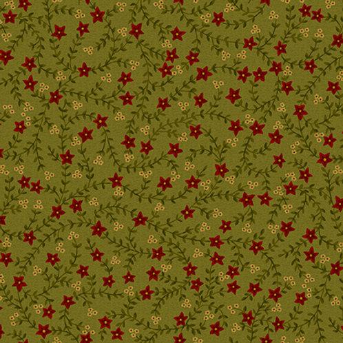 Vines & Red Flowers
