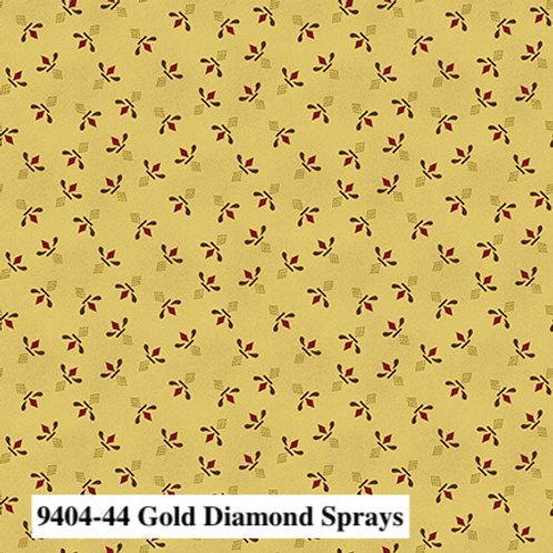 Diamond Sprays Gold