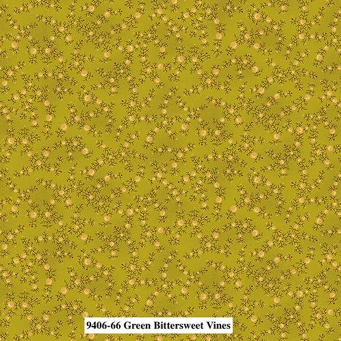 Bittersweet Vines Green