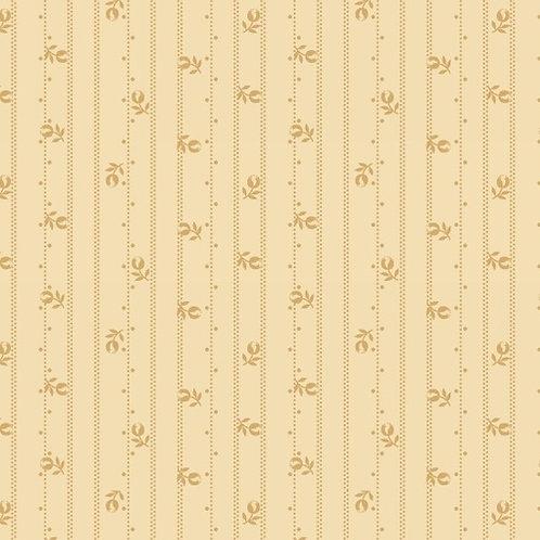 Floral Stripe Cream