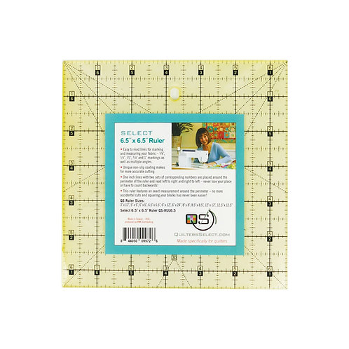 """Quilter's Select 6.5"""" X 6.5"""" Ruler"""
