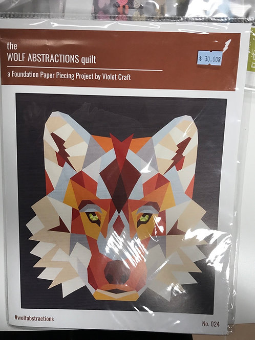 Wolf Abstractions Quilt