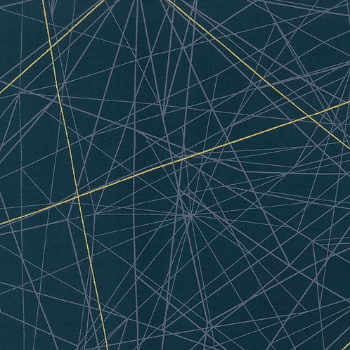 Deep Aquamarine Lines