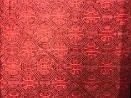 Rythme Geometric Red