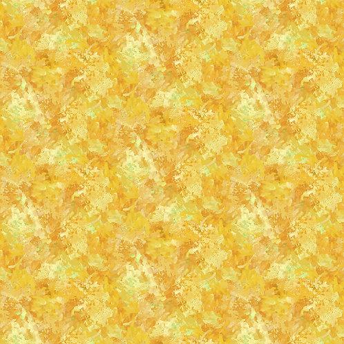 Yellow Brush Strokes