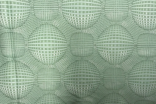 Rythme Geometric Light Green