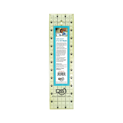 """Quilter's Select 3"""" X 12"""" Ruler"""