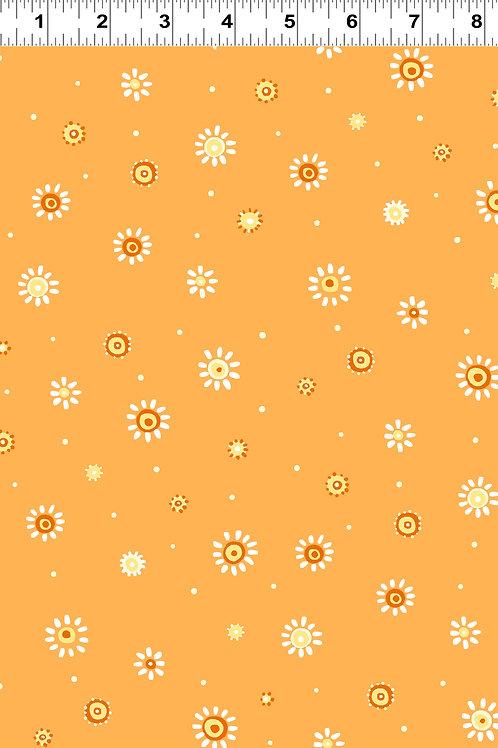 Sunburst Dot Orange