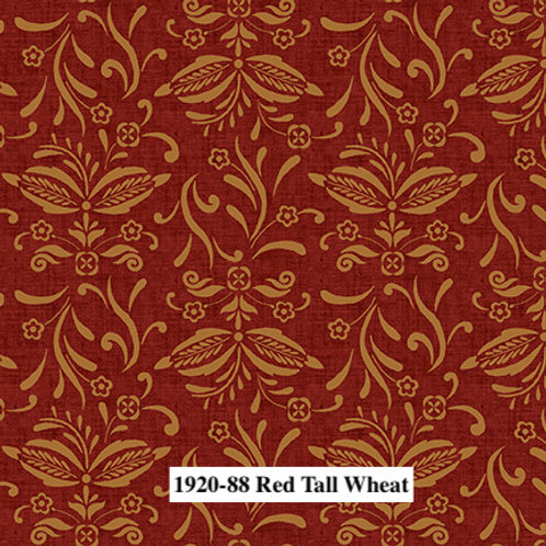 Red Tall Wheat