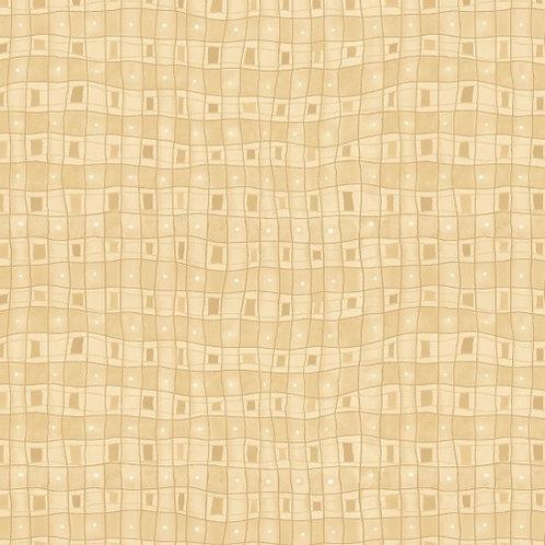 Small Grid Cream