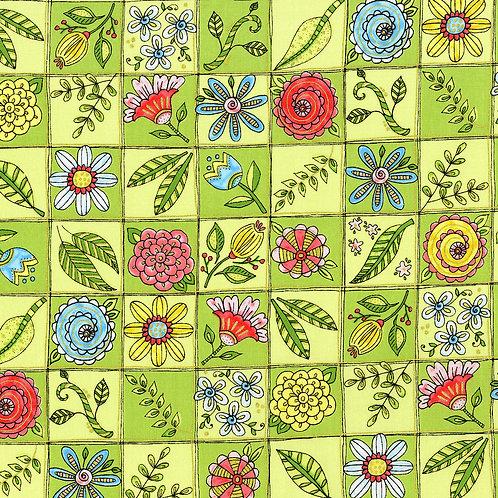 Doodle Garden Green