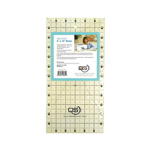 """Quilter's Select 6"""" X 12"""" Ruler"""