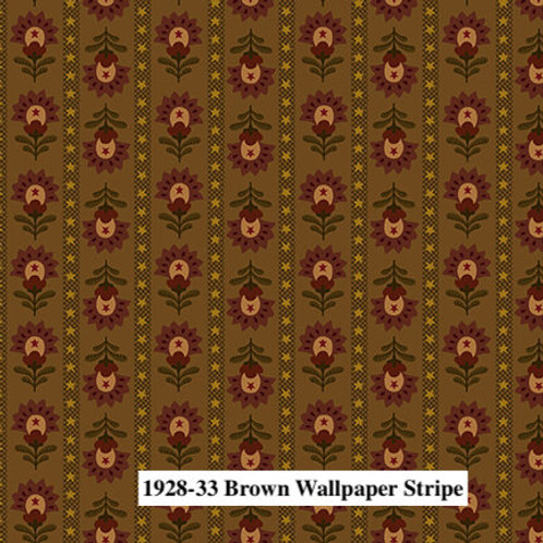 Brown Wallpaper Stripe