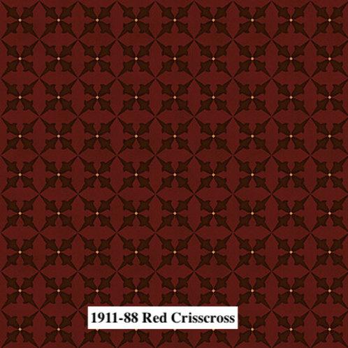 Red Crisscross