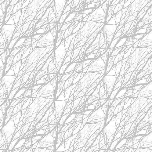 Gray White Branches