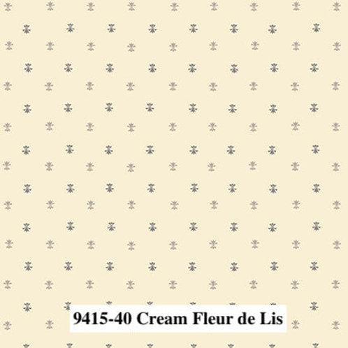 Fleur de Lis Cream