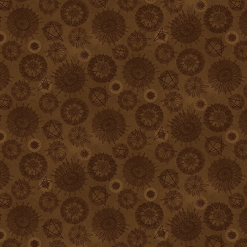 Tonal Flower - Brown