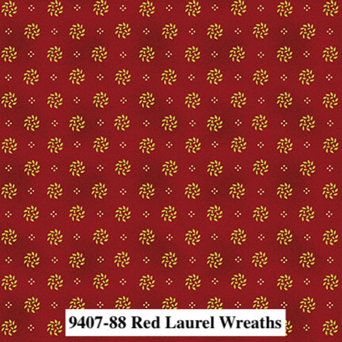 Laurel Wreaths Red