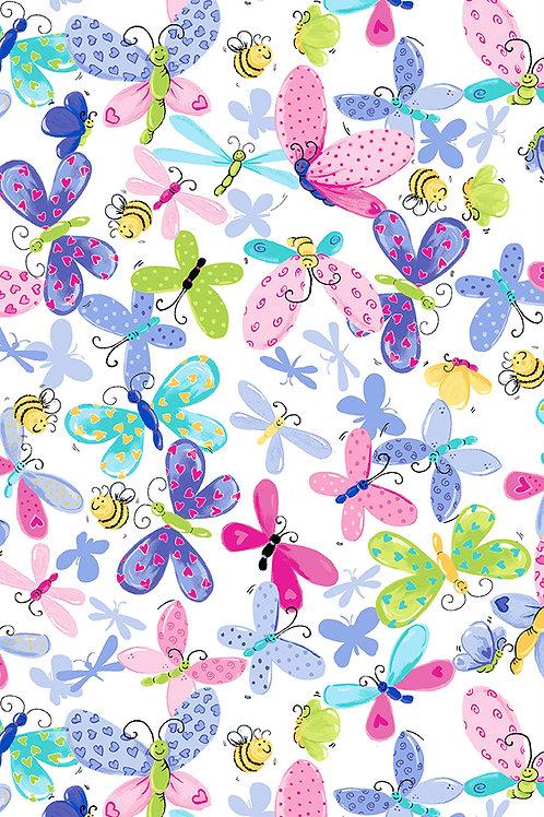 Flutter, the Butterfly Butterflies