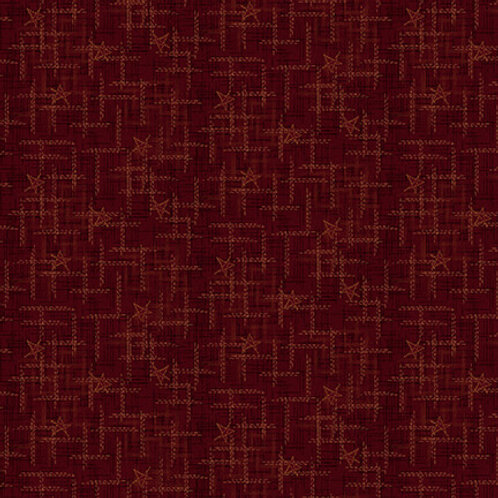 Star Texture - Red