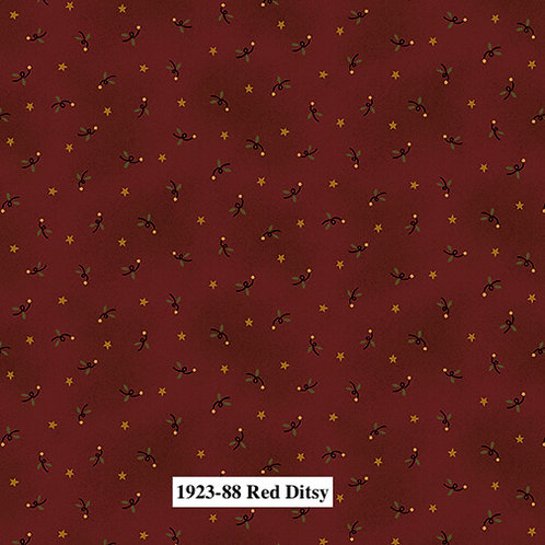 Red Ditsy