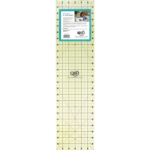 """Quilter's Select 6"""" X 24"""" Ruler"""