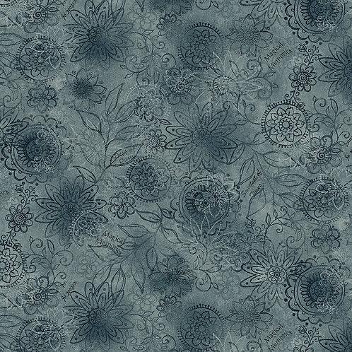 Wall Flower - Blue
