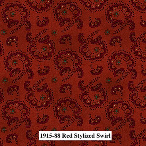 Red Stylized Swirl