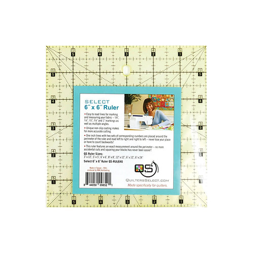 """Quilter's Select 6"""" X 6"""" Ruler"""