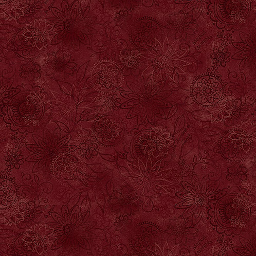 Wall Flower - Red