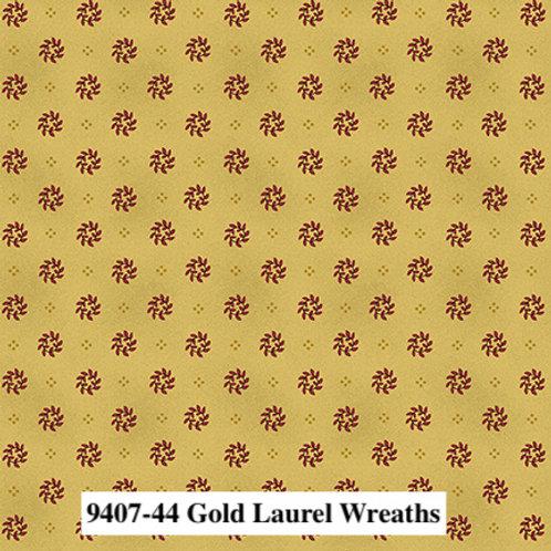 Laurel Wreaths Gold